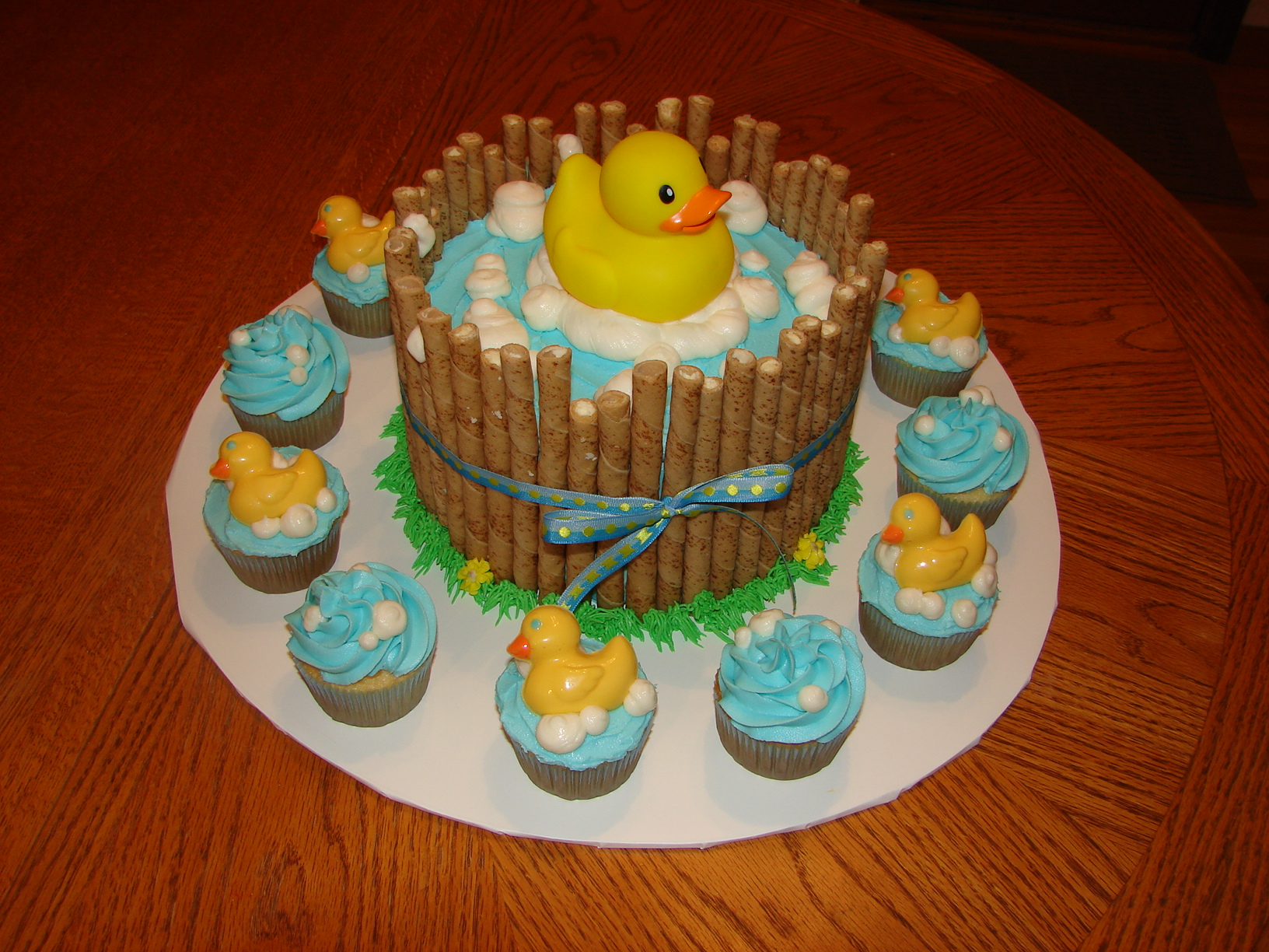 rubber duck birthday cakes